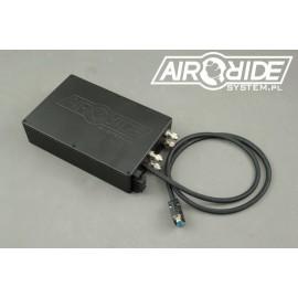 AirBOX BLACK mini 2way - zabudowana instalacja z 2 zaworami