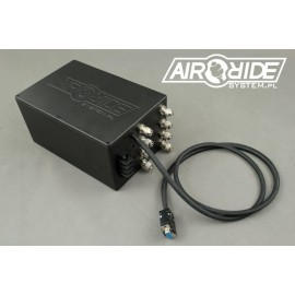 AirBOX mini 4way - BLACK box with 4 valves and pressure switch