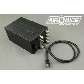 AirBOX BLACK mini 4way - zabudowana instalacja z 4 zaworami