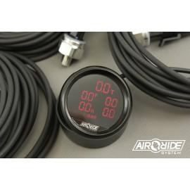 Digital BLACK manometer ARS - 5 Displays
