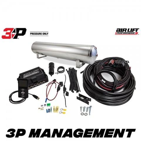 "Air Lift Performance 3P Management 1/4"" + tank + VIAIR"