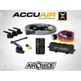 ACCUAIR e-Level – 4-Corner Electronic Leveling System with TouchPad Interface